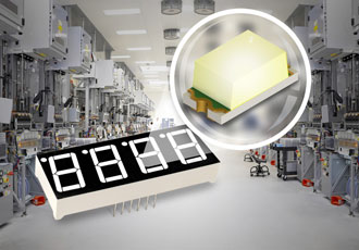 High reliability white chip offers a long operational life
