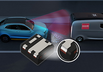 Ultra-compact automotive MOSFETs bring mounting reliability