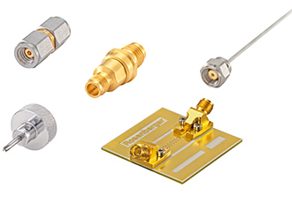 Precision connector with connections up to 90GHz
