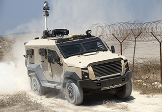 Smart armoured vehicles with NGVA capabilities