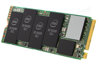SSDs are based on QLC 3D-NAND architecture