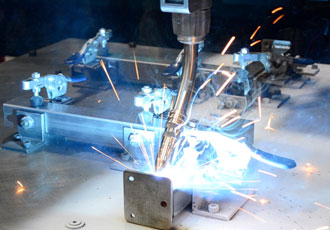 SMB Pressings uses Universal Robots Cobot in welding system