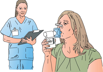 Improving the lung testing accuracy of spirometer devices