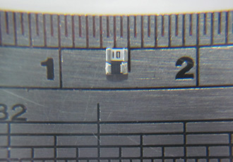 Ceramic current sense resistors offer values down to 2.5Ω