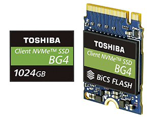 Single package PCIe with 96-layer 3D Flash memory