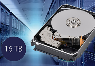 16TB enterprise capacity hard disk drives