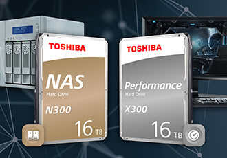 Hard drive series deliver expansive storage for NAS applications
