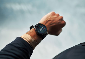 Location tracking smartwatch powered by sunlight