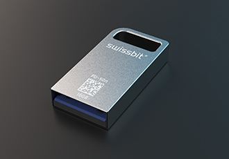 Secure USB stick for industrial data protection