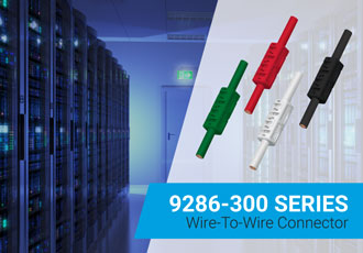 Wire-to-wire connectors for 12–18AWG industrial applications