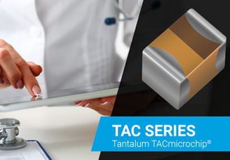 Tantalum capacitor designed for use in wide range of electronics