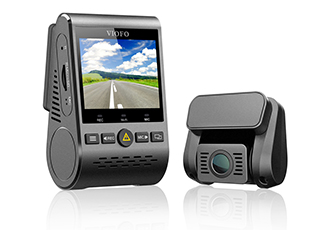 Dual channel WiFi dash cam packed with features