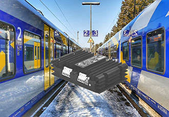 Wide input DC/DC solution for rail applications