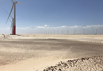 Sustaining wind farms with VpCI technology