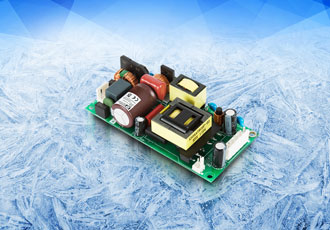 Low profile AC/DC power supply designed for healthcare industry