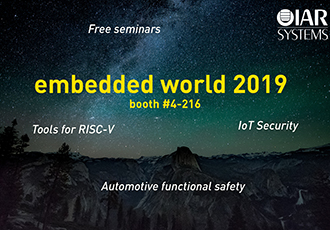 IoT security combats sophisticated cyber criminals at embedded world