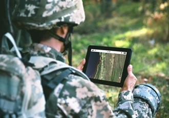 Envitia selected by US Army Geospatial Center for project