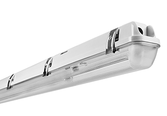 Damp-proof luminaires for special applications