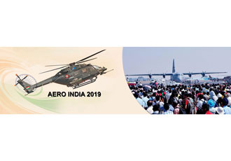 Military aviation services displayed at AERO INDIA 2019