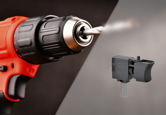 Miniature trigger switch for heavy duty control applications