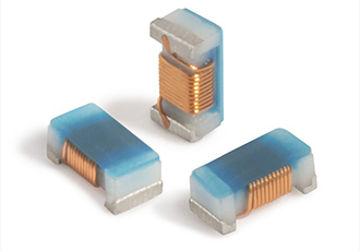 Two low-profile 0402-sized chip inductors