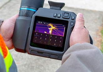 Fast and accurate outdoor thermal measurement