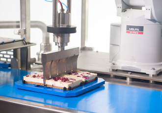Industrial food cutting becomes a piece of cake