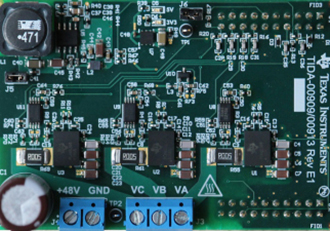 Three phase inverter current sensing reference design