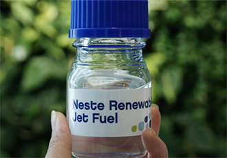 Sustainable aviation fuel available at Caen airport
