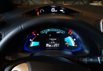 TomTom powers new Nissan LEAF's in-vehicle infotainment system