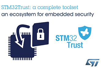 Microcontroller delivers secure key storage and tamper detection
