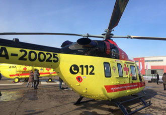 Medical helicopters delivered to National Air Ambulance Service