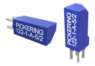 Reed relay suits high-PCB-density applications