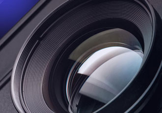 Large format lenses designed for high resolution cameras