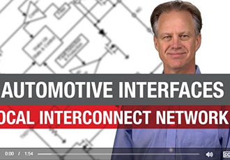 LIN products for automotive interfaces