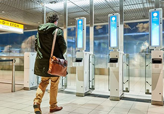 Airport employs facial recognition for paperless boarding