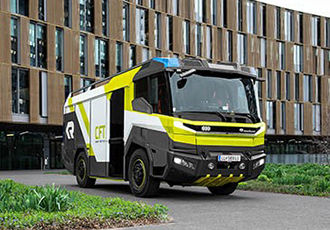 Electric driveline for fire engine being developed