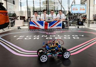The teenagers writing the code for a self-driving future