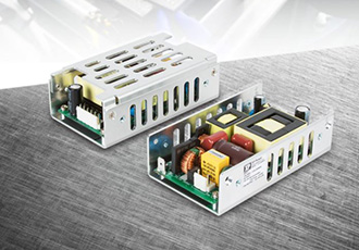 Low profile U-channel PSU for space-critical applications