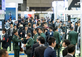 Japan's first fully integrated defence event
