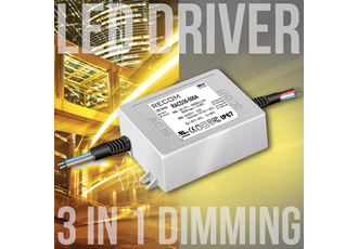 LED drivers can be dimmed by analogue, PWM or resistor