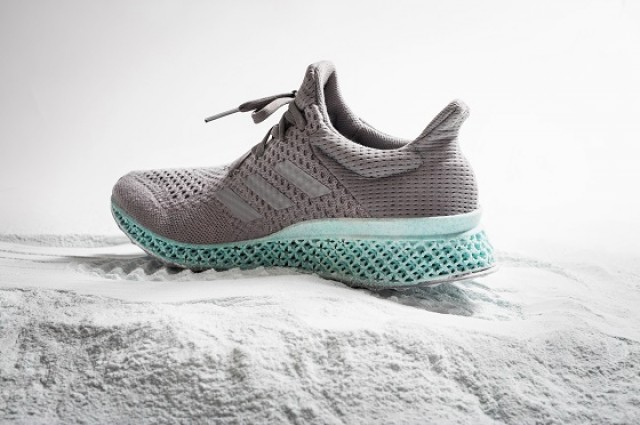 3D printed trainers made from trash