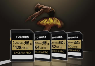 SD memory cards features write speeds up to 240MB/s