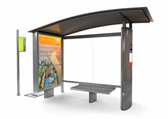 Connected bus stop incorporates 3G small cell technology
