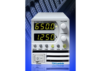 800W power supply has output voltages of 160, 320 or 650VDC