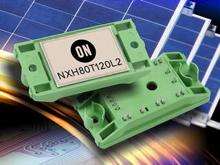 80A PIM targets solar inverter applications