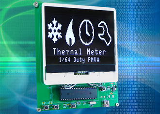 A cost-effective alternative to TFT displays