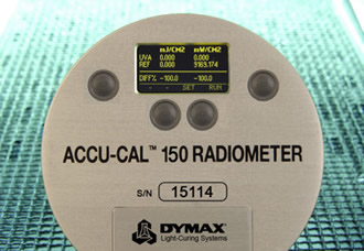 Radiometer simplifies the monitoring of UV-curing
