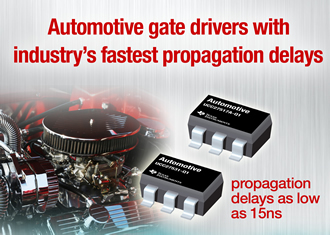 AEC-Q100 gate drivers for automotive applications