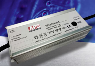 100-170W LED power supplies feature dimming control